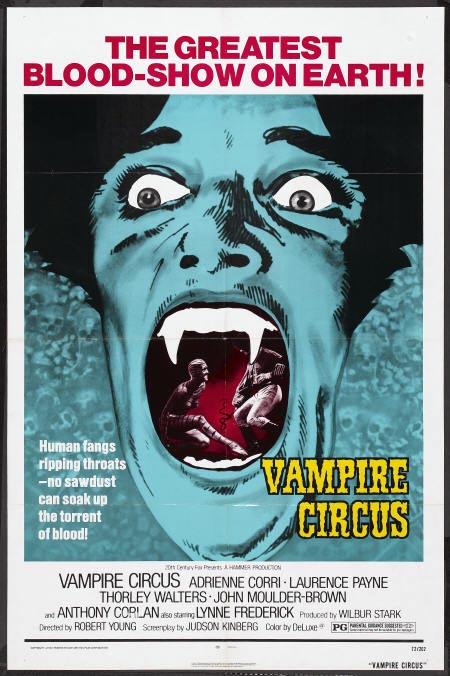Anthony Higgins - Vamire Circus - poster - 2