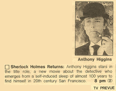 Anthony Higgins - 1994 Baker Street