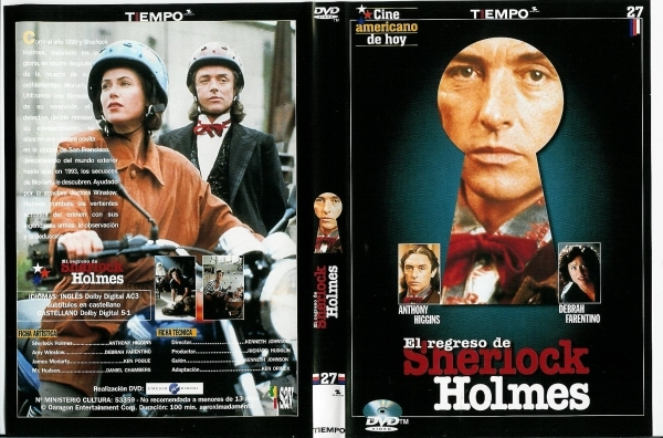 Anthony Higgins - 1994 Baker Street - DVD SPANISH EDITION