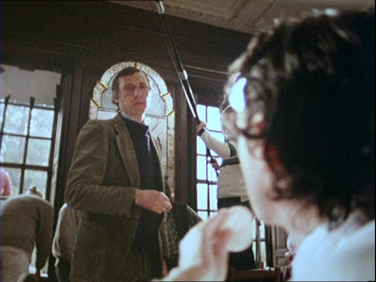 The Draughtsman's contract Behind the Scene - Anthony Higgins and Peter Greenaway